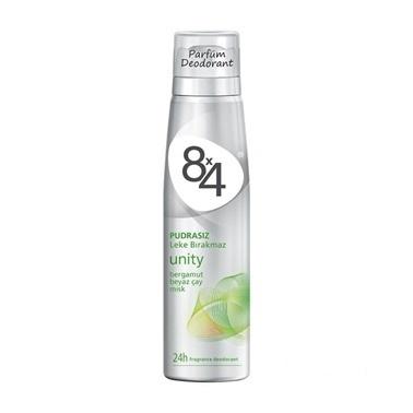 8x4  Unity Bayan Parfüm Deodorant 150ml Renksiz